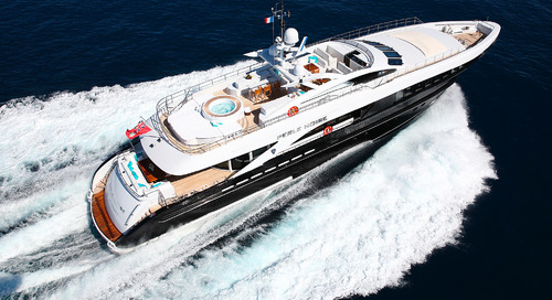€500,000 price drop on Heesen motor yacht Perle Noire