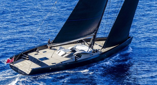 Wally Sailing Yacht ANGEL'S SHARE is back in Monaco!