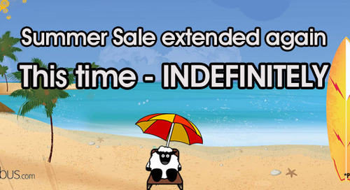 Sale extended indefinitely