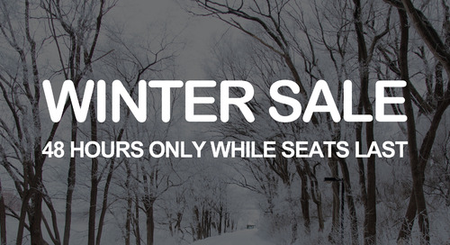 48 hour winter sale