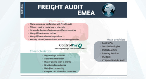 Insight: Freight Audit EMEA
