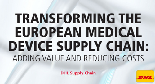 Transforming the European Medical Device Supply Chain