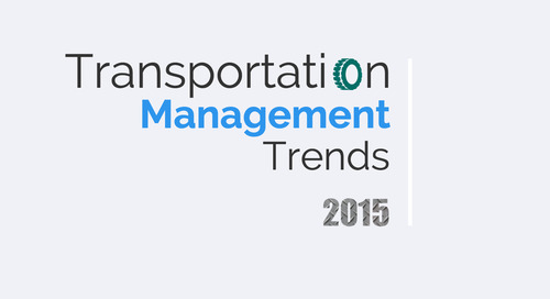 The current trends in transportation management