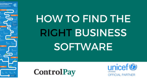 INFOGRAPHIC - Your Road to Buying Business Software