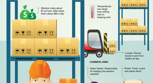 Infographic - Inside Online Retailers Warehouses