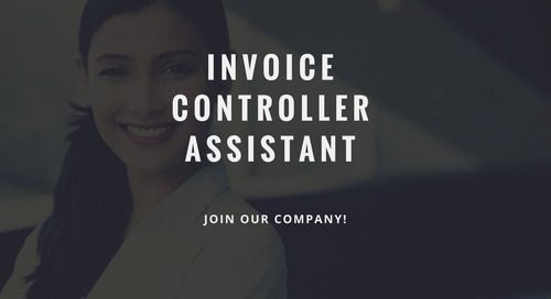 ControlPay vacancy - Invoice Controller Assistant