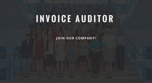 ControlPay vacancy - Invoice auditor