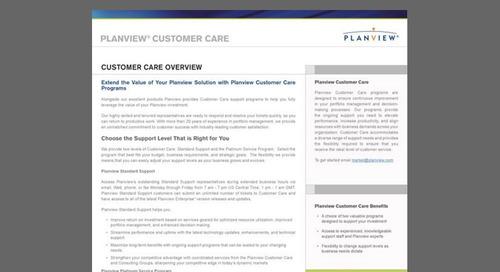 Planview Customer Care