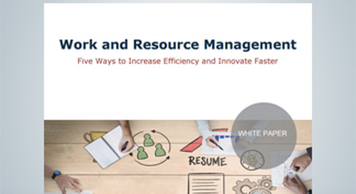 Ventana Research: Work and Research Management