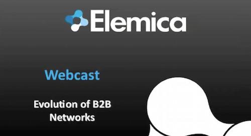 Evolution of B2B Networks (Webcast)