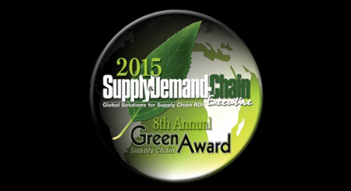 Elemica Wins Green Supply Chain Award for 7th Consecutive Year
