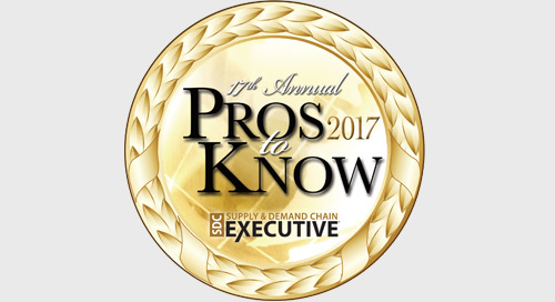 """Three Elemica Executives Named Supply Chain """"Pros to Know"""""""