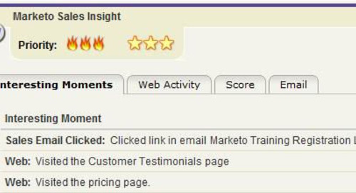 Keeping Marketo Sales Insight Clean