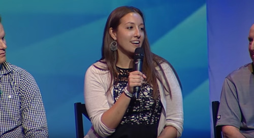 Morgan Rangel, Vice President of Talent and Training at Elixiter, Speaks at the 2016 Big Sky: Big Ideas Tech Summit