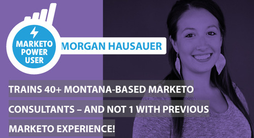 Bedrock Data Interviews Marketo Power User Morgan Hausauer of Elixiter