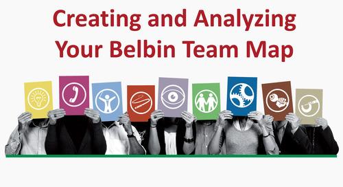 Create a Belbin Team Role Map