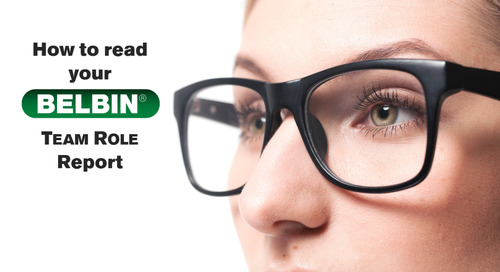 How to Read Your Belbin® Team Roles Report