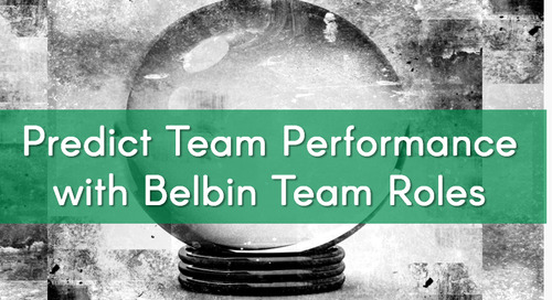 The Secret of Predicting Team Performance