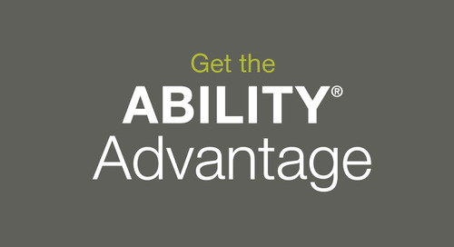 [Infographic] Get the ABILITY Advantage