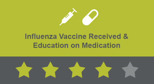 Influenza Vaccine Received & Education on Medications