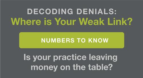 Decoding Denials: Where Is Your Weak Link?