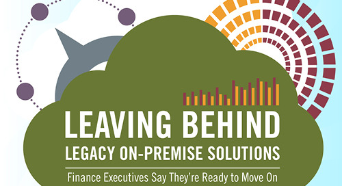 Leaving Behind Legacy On-premise Solutions [Infographic]