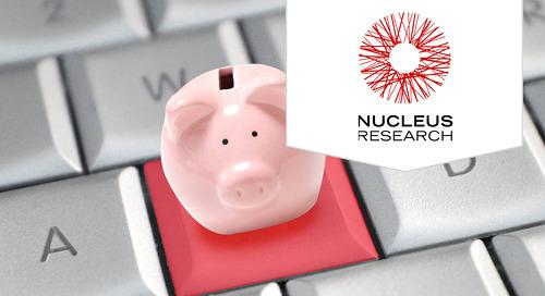 Nucleus Research: CPM Technology value Matrix 2017