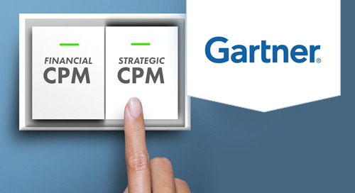 2017 Gartner Magic Quadrants For Financial and Strategic CPM Solutions