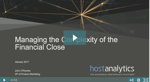 Managing the Complexity of the Financial Close