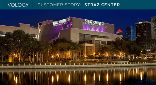 Customer Success Story - The Straz Center for the Performing Arts
