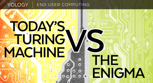 Today's Turing Machine vs. the Enigma