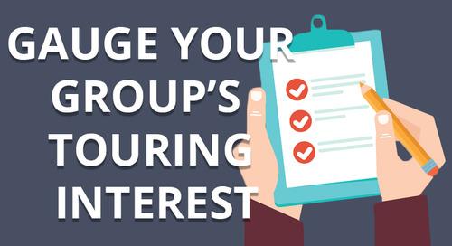 Gauge Your Ensemble's Touring Interest