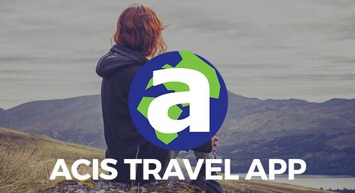 The Encore Tours/ACIS Travel App