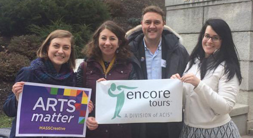 Arts Matter Advocacy Day 2017 Encore Tours Recap