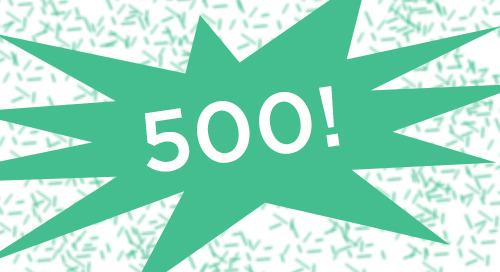 500+ Facebook Likes!