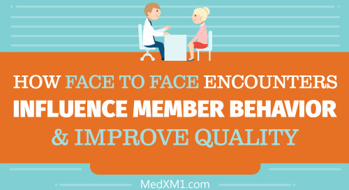 How Face to Face Encounters Influence Member Behavior & Improve Quality