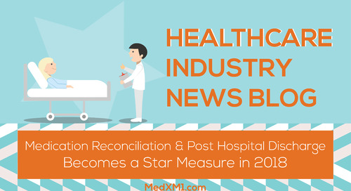 Healthcare Industry News Blog: Medication Reconciliation Post Hospital Discharge Becomes a Star Measure in 2018