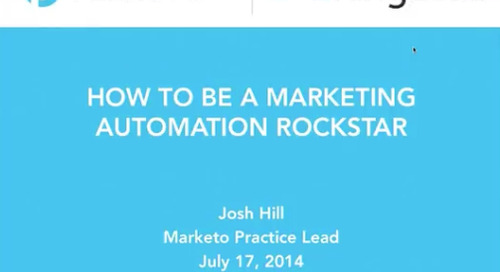 How to be Marketing Automation Rockstar