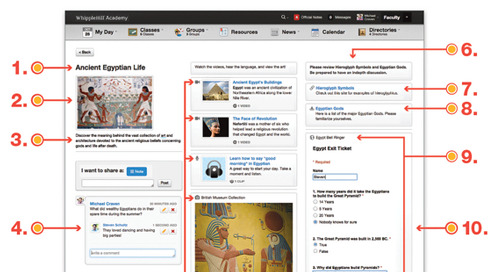 Engage Students: onCampus and the Anatomy of a Topics Page