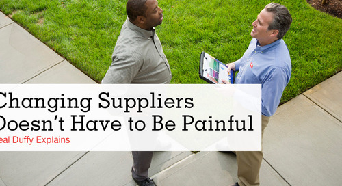 Changing Facilities Suppliers Doesn't Have to Be Painful