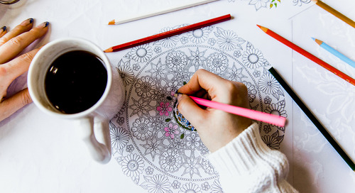 Stimulate Creativity With Coloring Books in the Office