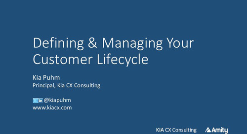 Defining and Managing Your Customer Lifecycle Webinar Recording
