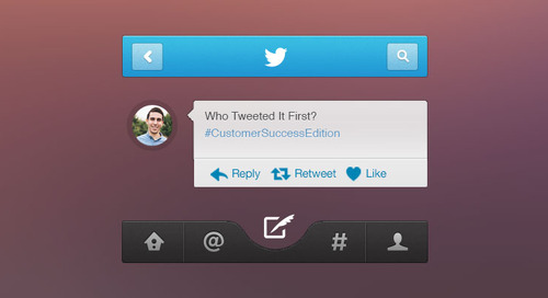 Who Tweeted It First: Customer Success Edition