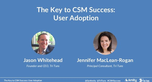 The Key to CSM Success: User Adoption Webinar Recording