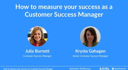 How to measure your success as a Customer Success Manager Webinar Recording