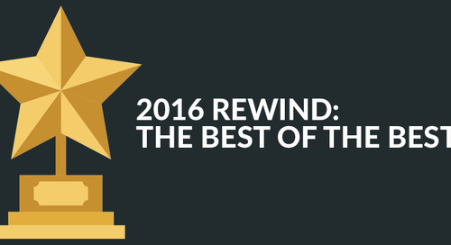 2016 Rewind: The Best Of The Best