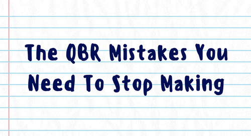 The QBR Mistakes You Need To Stop Making