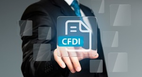 First Mexico CFDI Change