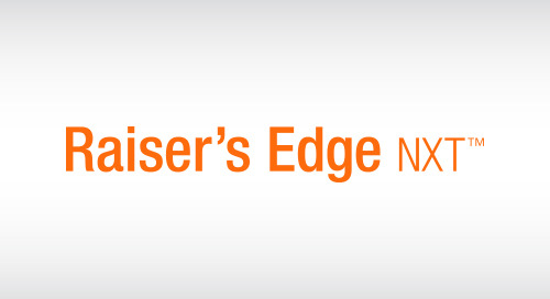 DATASHEET: Raiser's Edge NXT for eTapestry Clients