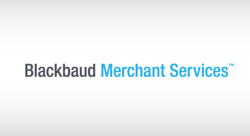 10/11: Navigating the Blackbaud Merchant Services Web Portal (Webinar)